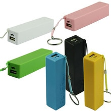Portable Power Bank 18650 External Backup Battery Charger With Key Chain аккумуляторна�