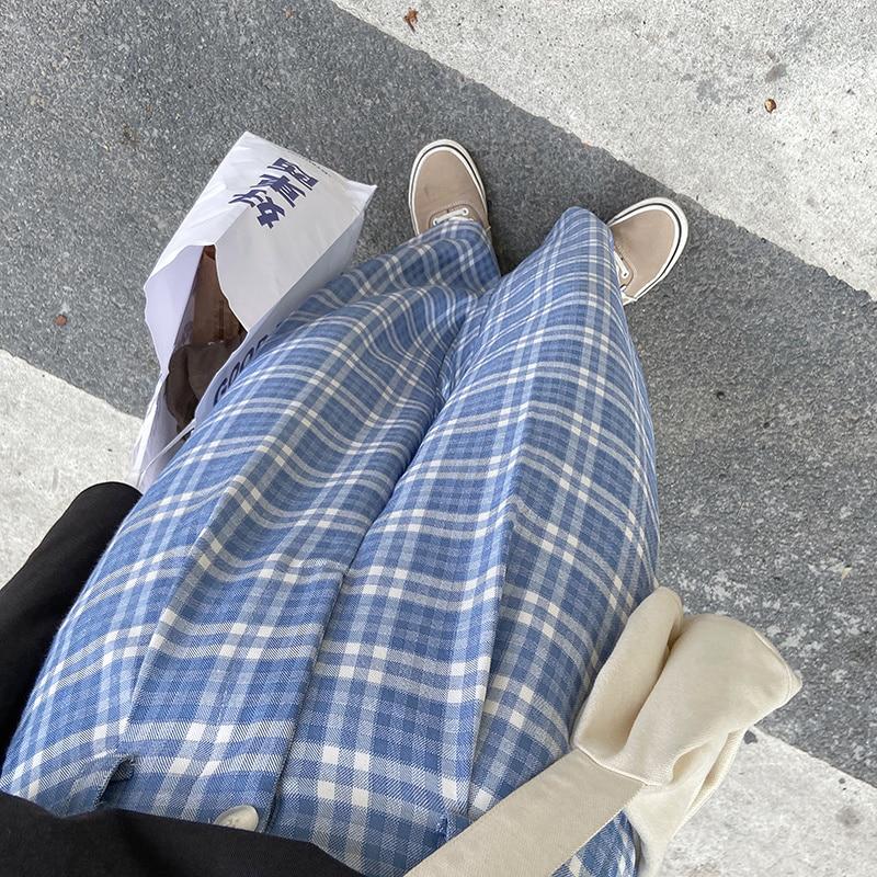 سراويل تقليدية للنساء سروال مستقيم فضفاض رقيق