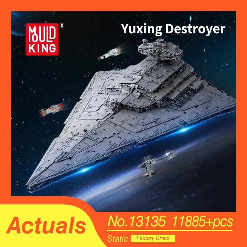 Compatible con lepinglys Star Wars 75190 75252 Star Wars destructor estrella nave modelo Juguetes de bloques de construcción para niños regalos