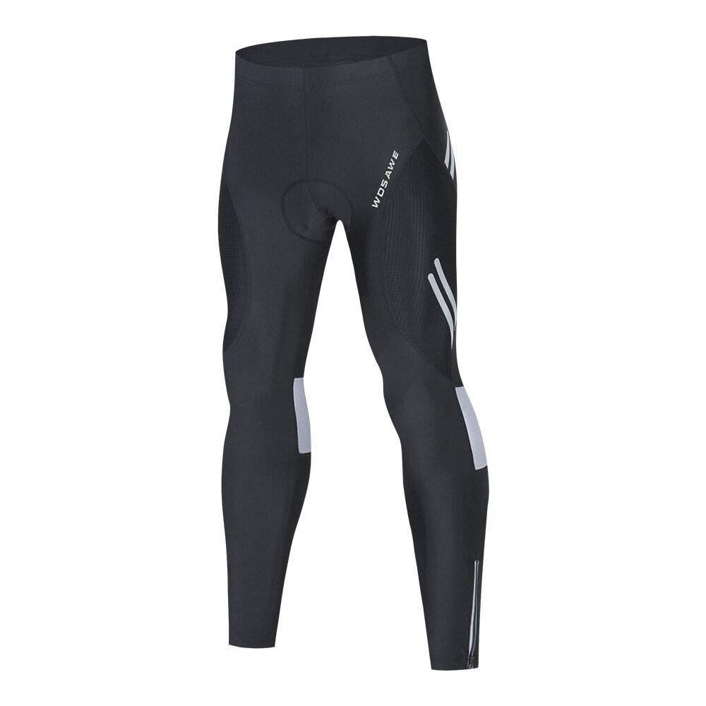 Men's Cycling Pants With 3D Gel Pad Cycling Tights Breathable MTB Bike Bib Pants Downhill Bicycle Pants Cycling Trousers siilenyond 100% lycra cycling tights mountain bicycle pants coolmax 3d gel padded cycling tight mtb bicycle pants bike trousers