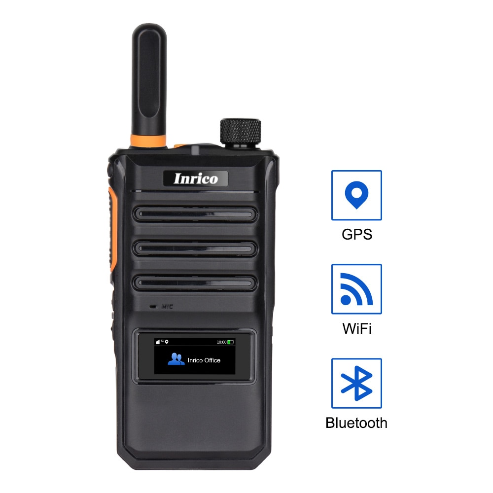 Inrico T620 Android Mini Walkie Talkie 100 Km GSM WCDMA 4G LTE Smart Mobile Phone Network Intercom Poc Radio with NFC GPS BT enlarge
