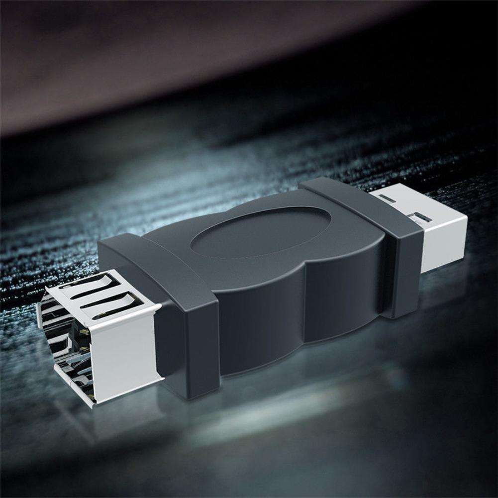 FireWire-adaptador IEEE 1394 de 6 pines hembra A USB 2,0 tipo A...