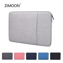 Laptop Sleeve Tas Met Pocket Voor Macbook Air Pro Ratina 11.6/13.3/15.6 Inch 11/12/ 13/14/15 Inch Notebook Case Cover Voor Dell Hp