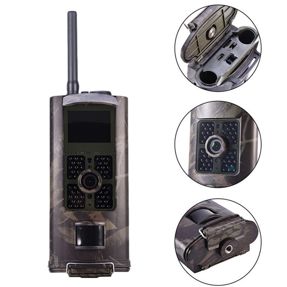 HC-700G Hunting Camera Wildlife Tracking Outdoor Game 3G MMS SMS 16MP Trail Video Wild Scouting Photo Trap