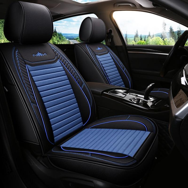 Cubierta de asiento de coche Universal fundas para almohada cojín Honda CIVIC 8 9 Eg Ek 4d 5d 10th 2006-2011, 2012, 2014, 2007, 2008, 2017, 2018