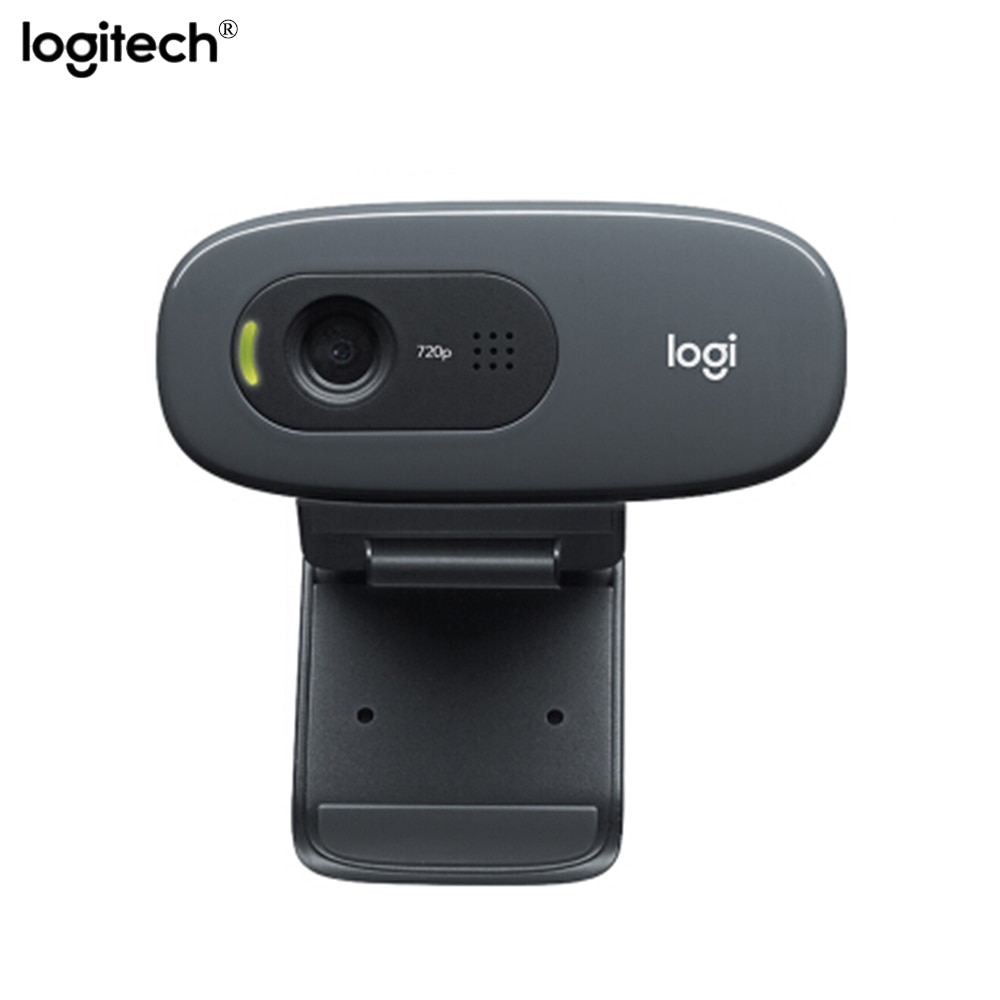 Original Logitech C270 Vid 720p PC Smart tv USB 2.0 Camera HD Video WebCam With MIC Built-in Microphone  For PC Laptop Computer