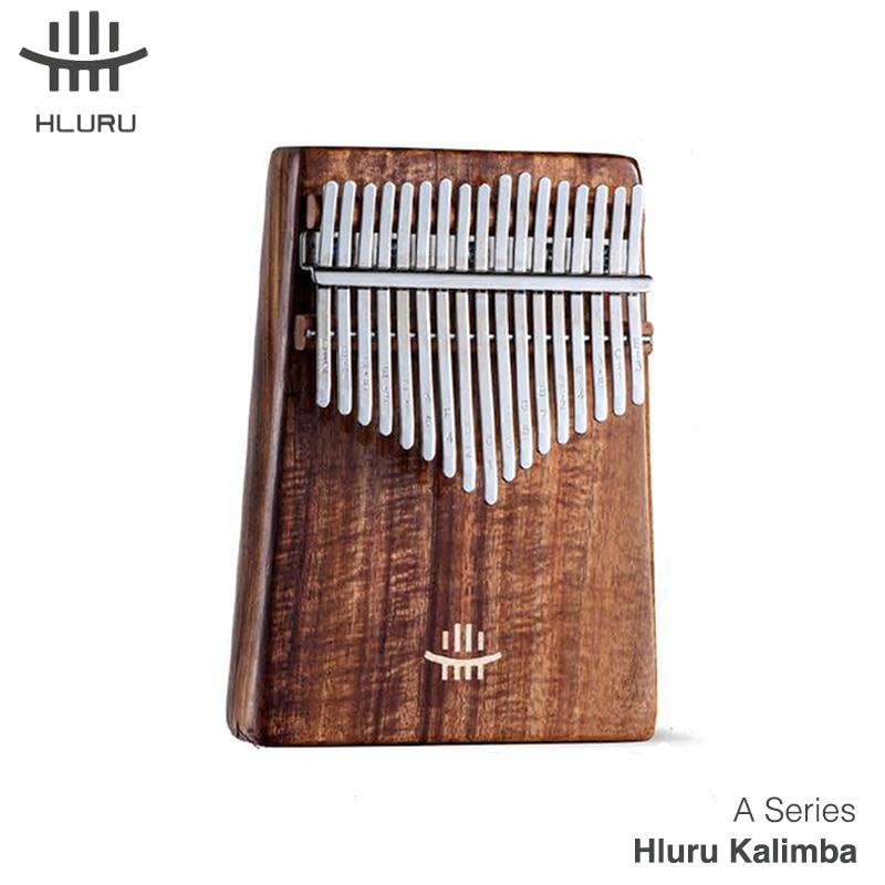 Hluru Kalimba 17 21 Key Wooden Thumb Piano Gecko Musical Instrument Gift With Accessories Full Solid Wood Mini Kalimba