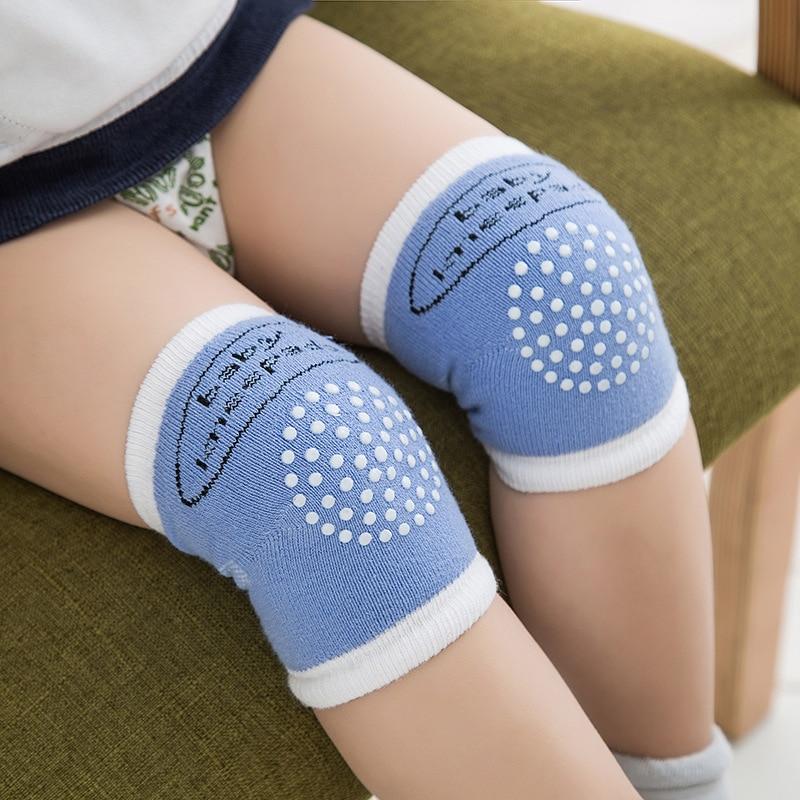 Baby Infant Toddler Anti Slip Crawling Knee Pads Safety Cushion Protector Leg Kids Dot Cute Crawling