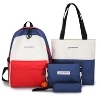 small fresh forest ins contrast color bag female korean harajuku ulzzang junior high school students ancient backpack