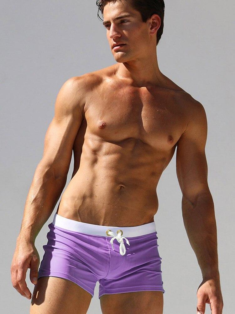 Плавки для мужчин плавки с карманами мужские сексуальные мужские спортивные костюмы Шорты мужские плавки пляжные шорты