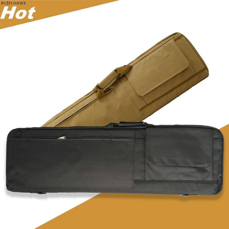 Bolsa de Arma Bags com Proteger o Algodão Equipamento Tático Case Espingarda Rifle ar Capa Manga Ombro Bolsa Caça Carry 85cm