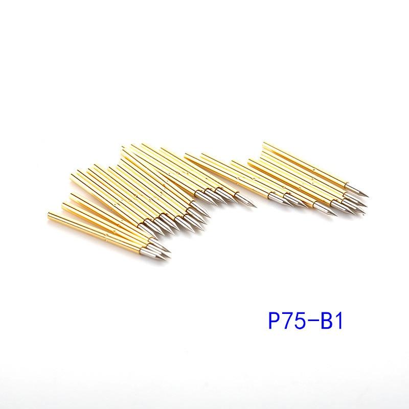 games viaje por espana a2 b1 100PCS Spring Test Probe P75-A2 B1 E2 J1 Outer Diameter 1.02mm Length 16.5mm PCB Probe