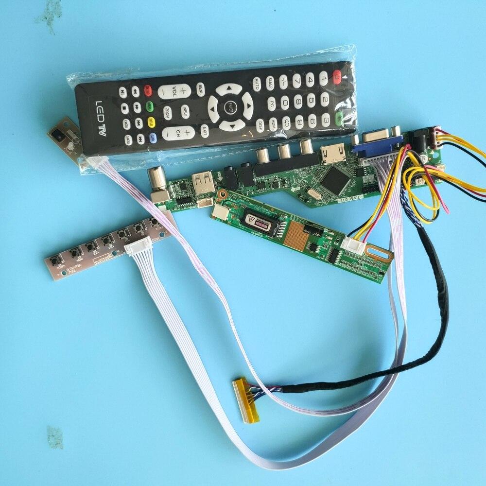 شاشة عرض USB LED لـ LP154WX4 TL ، لوحة تحكم HDMI LCD AV VGA 1280x800 ، شاشة تلفزيون عن بعد LVDS Audio 15.4 بوصة