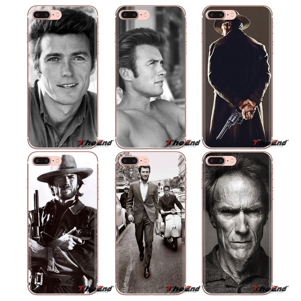 Para LG G3 G4 Mini G5 G6 G7 Q6 Q7 Q8 Q9 V10 V20 V30 X Power 2 3 K10 K4 K8 2017 fundas de TPU cubierta Taili canción Roth EE. UU. Clint Eastwood.