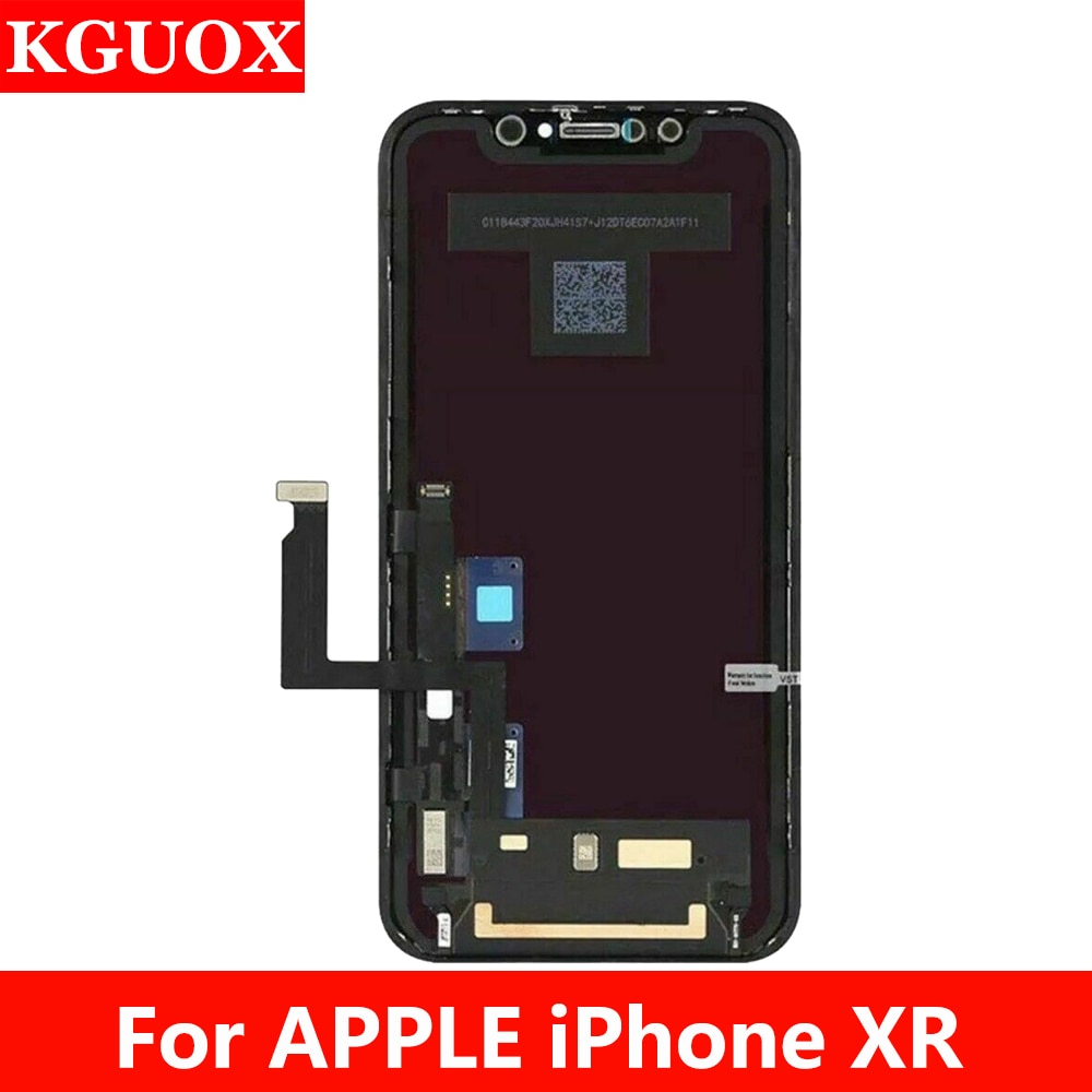 AAA + + + الصف Lcd لابل آيفون XR شاشة LCD تعمل باللمس محول الأرقام آيفون XR TFT LCD شاشة الجمعية