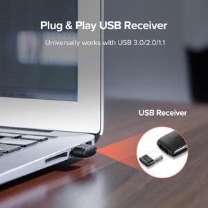 Image 4 - Ugreen Presenter Беспроводной пульт дистанционного управления ler 2,4 ГГц USB Ручка управления для Mac Win 10 8 7 XP проектор Powerpoint PPT лазерная указка