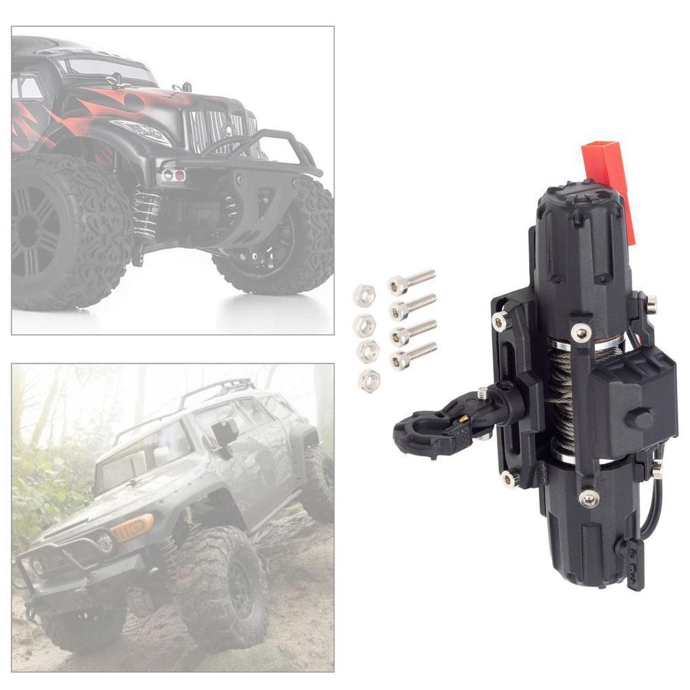 Kawaii Modified accessories Simulation RC Climbing Car Control Winch Full Metal Radio For DIY