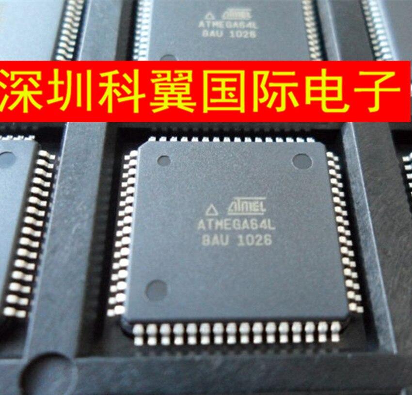 Em Estoque 100% Novo & original ATMEGA64L-8AU QFP64
