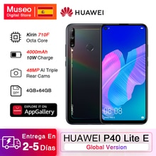 Globale Versione Huawei P40 Lite E Smartphone 4GB 64GB da 6.39 pollici 48MP Triple AI Macchina Fotografica di Impronte Digitali Sbloccare Cellulare telefoni 4000mAh