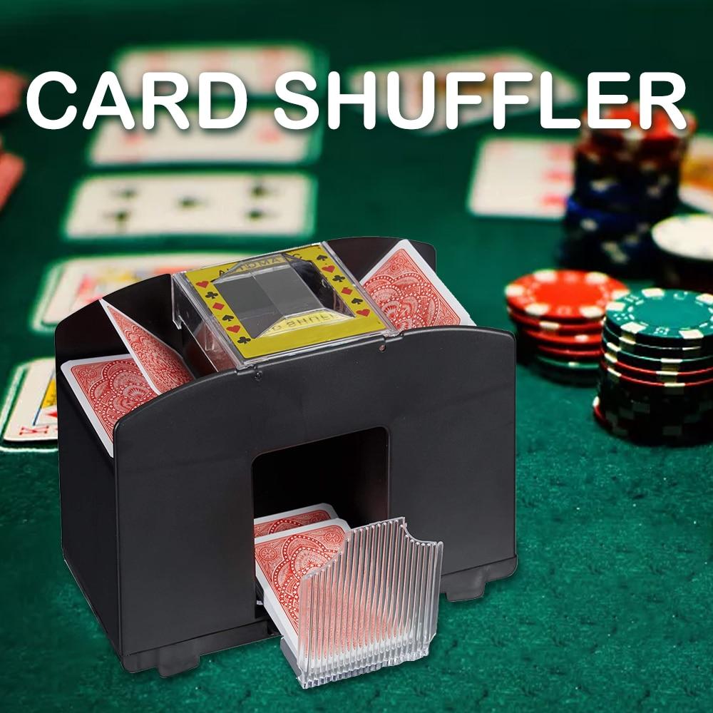 Automatic Card Shuffler Shuffle Machine Electronic Poker Shuffling Machine Automatische Party Entertainment Board Game Tools