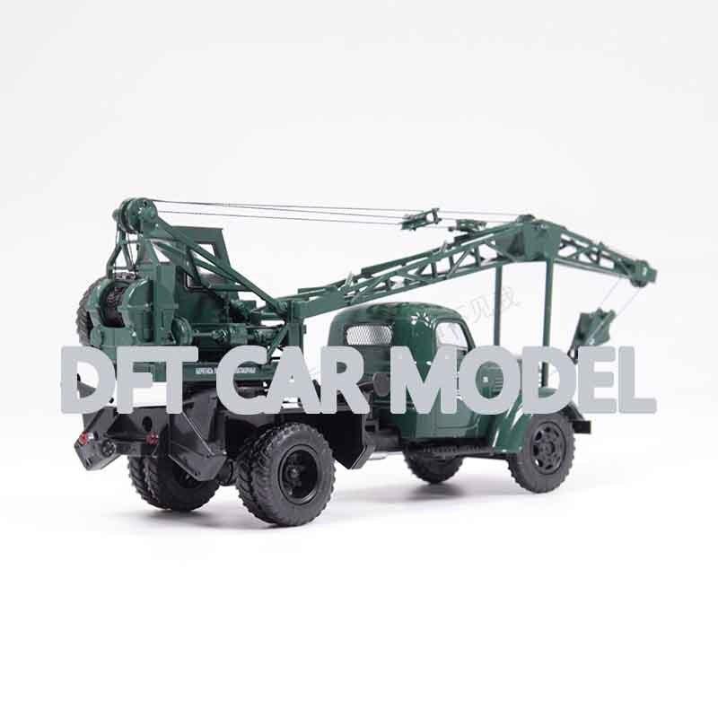 Vehículos de juguete de aleación a escala 143 Unión Soviética LAZ-690(150) Camión grúa modelo de coche de juguete para niños Original autorizado juguetes para niños