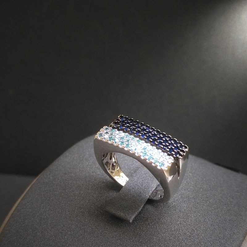 Женское-Двухслойное-прямоугольное-кольцо-в-богемном-стиле-с-бриллиантами