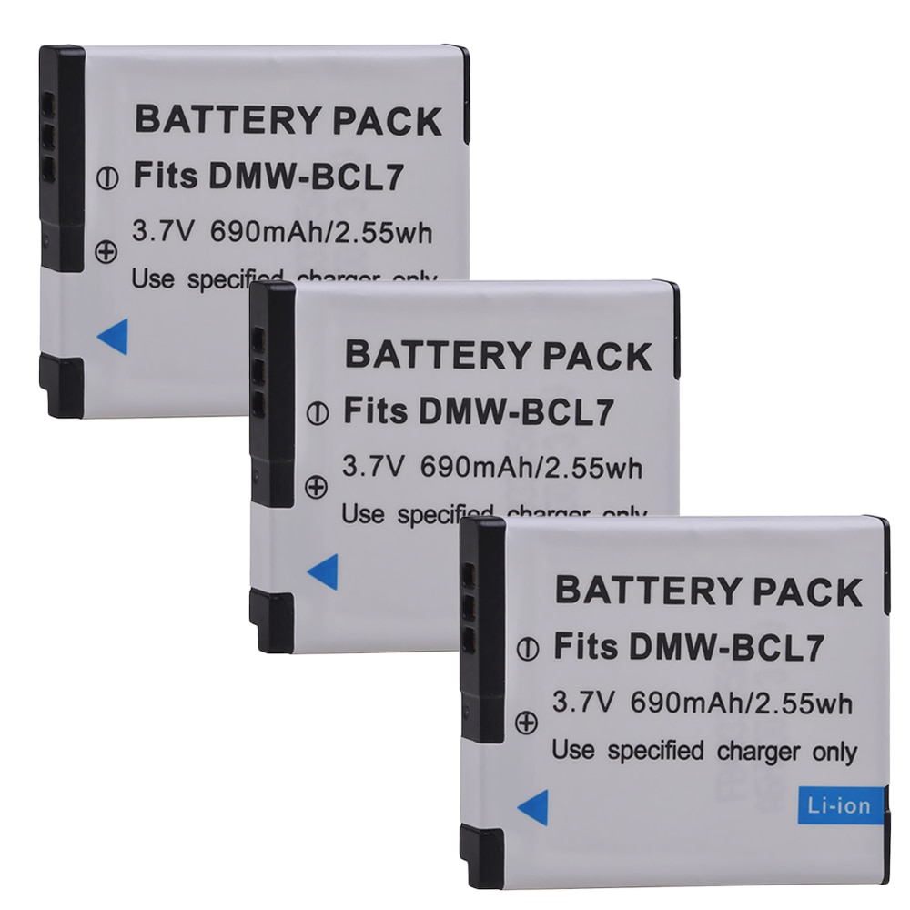 DMW-BCL7 BCL7 BCL7E DMW-BCL7PP Battery for Panasonic Lumix DMC-FH10, DMC-FS50, DMC-SZ10, DMC-SZ9, DMC-SZ8, DMC-SZ3, DMC-XS1,XS3