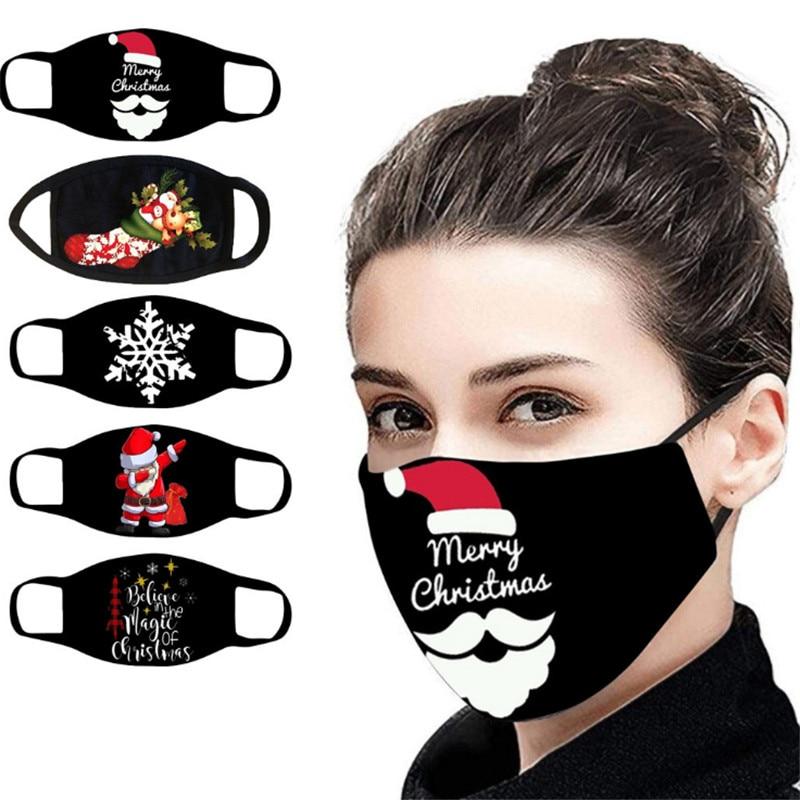 Novo natal ao ar livre máscaras decorações de natal para casa feliz natal santa natal veado urso feliz ano novo navidad 2020