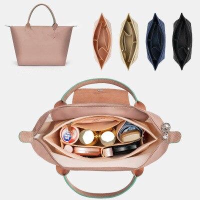 Para grande médio shopper saco shaper bolsa organizador fralda compras interior bolsa inserção