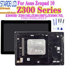 AAA Z300M P00C Z300C Z301MFL ML P00L Z300CNL P01T LCD pour Asus Zenpad 10 LCD écran tactile assemblée avec cadre numériseur