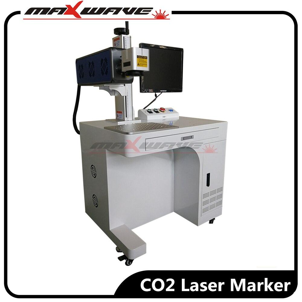 15W 20W 30W tubo de dióxido de carbono Cable CO2 máquina de marcado láser