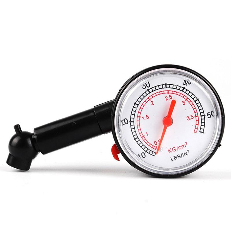 Измеритель давления в шинах (0 - 50)PSI (0-3,5), прибор для измерения давления в шинах, для автомобилей, мотоциклов, велосипедов