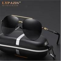 2021 mens vintage fashion aviation pilot sunglasses polarized classic brand design glasses coating lens male driving shades