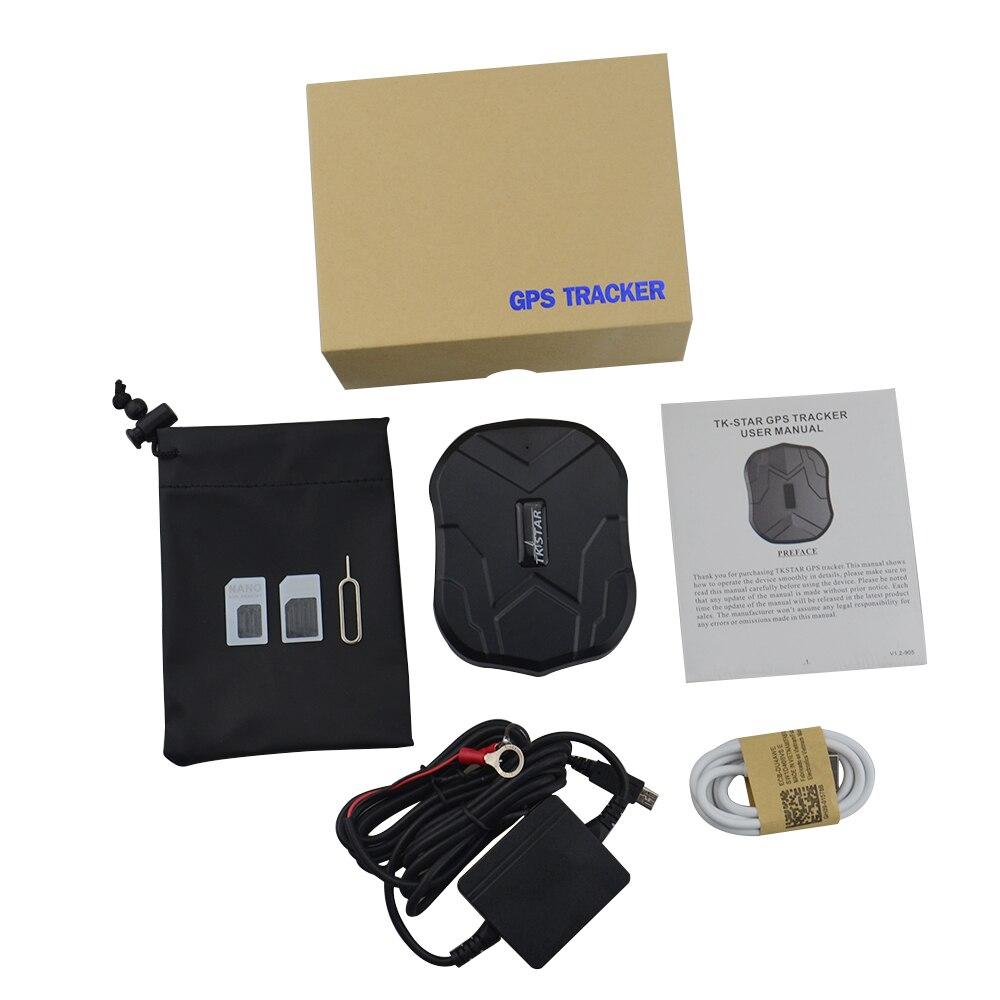 Localizador GPS TKSTAR GPS TK905 con fuerte imán para coche camión furgoneta Monitor de voz dispositivo de seguimiento GPS