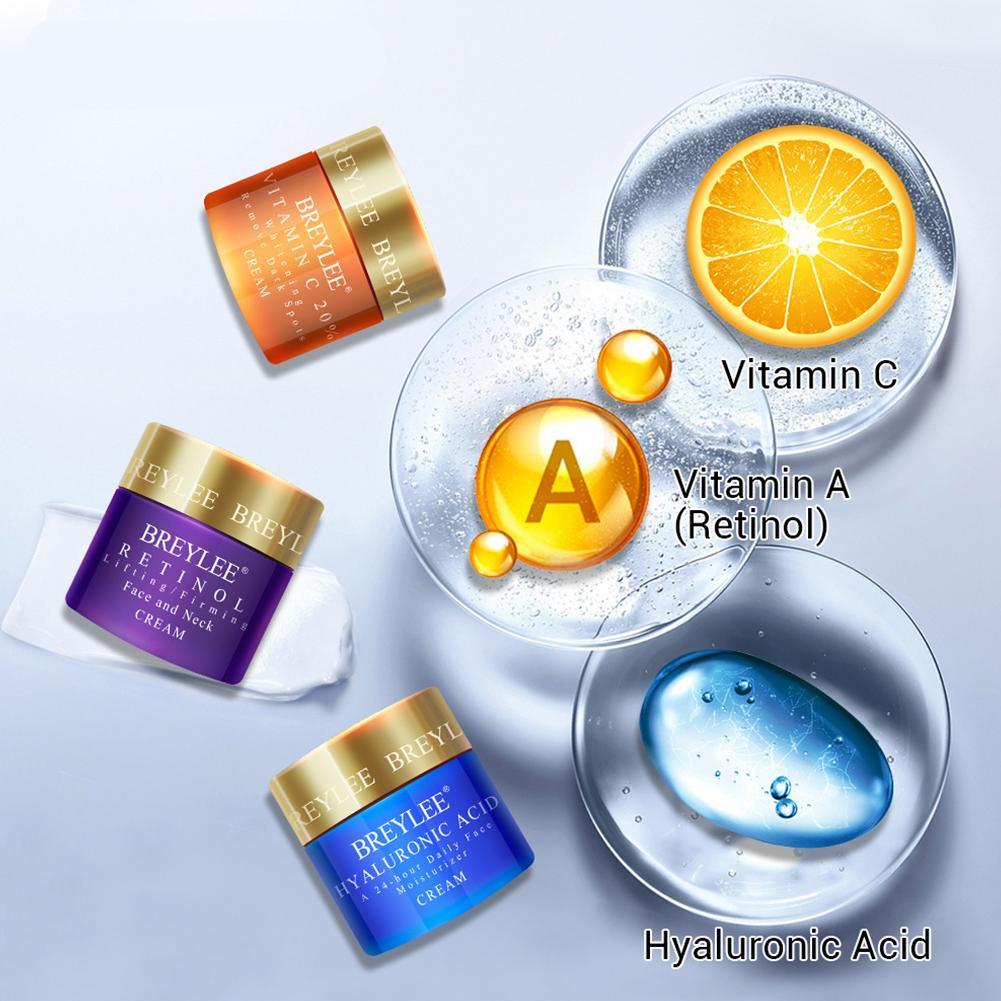 40g Nourishing Hyaluronic Acid Cream Vitaminc C Whitening Cream Moisturizing Skin Care Firming Anti-wrinkle Cream