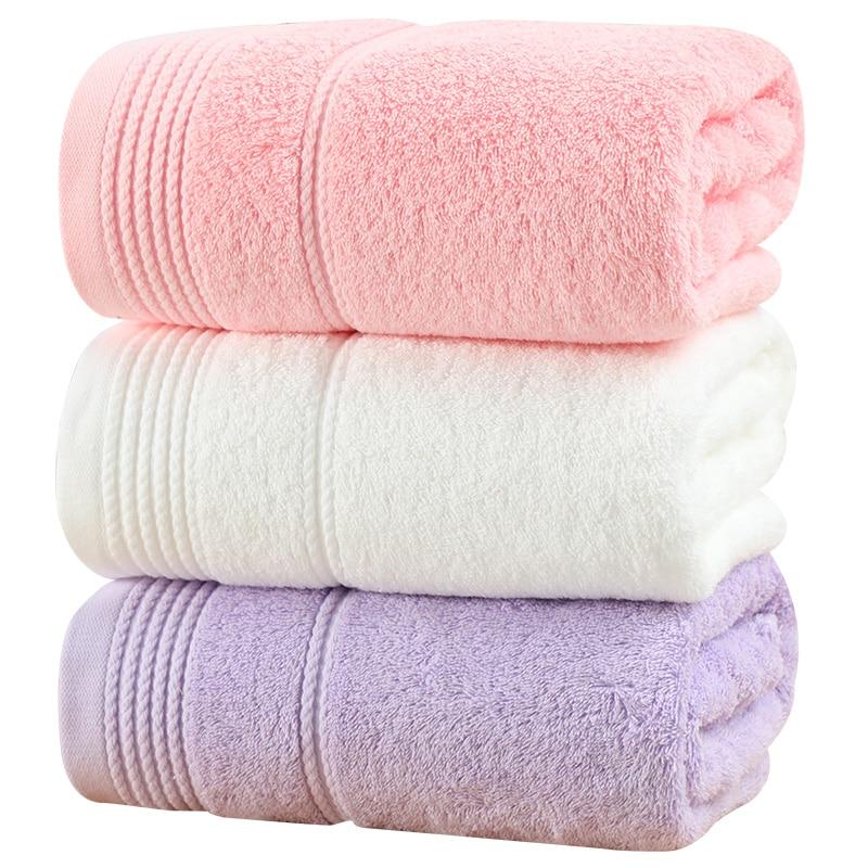 Большие роскошные хлопковые банные полотенца, набор мягких супер впитывающих белых полотенец для взрослых, высокое качество, декоративные ...