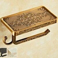 Porte-rouleau de papier toilette  style europeen antique  salle de bain  accessoires WY51616