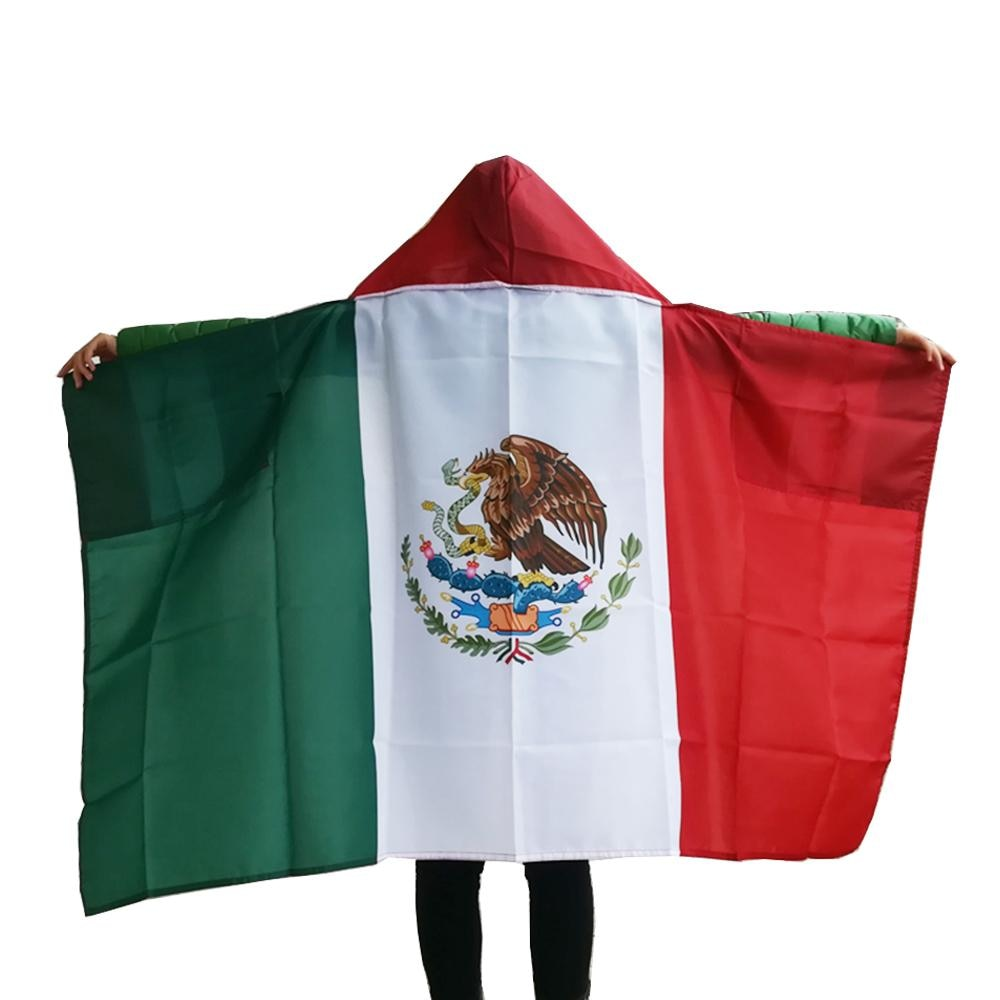 Mexico National Flag Cape Body Flag Banner New 3x5ft Polyester Fans Flag Cape custom flag 201 countries flag national flag symbol fridge magnets combine order accept wholesale business souvenirs