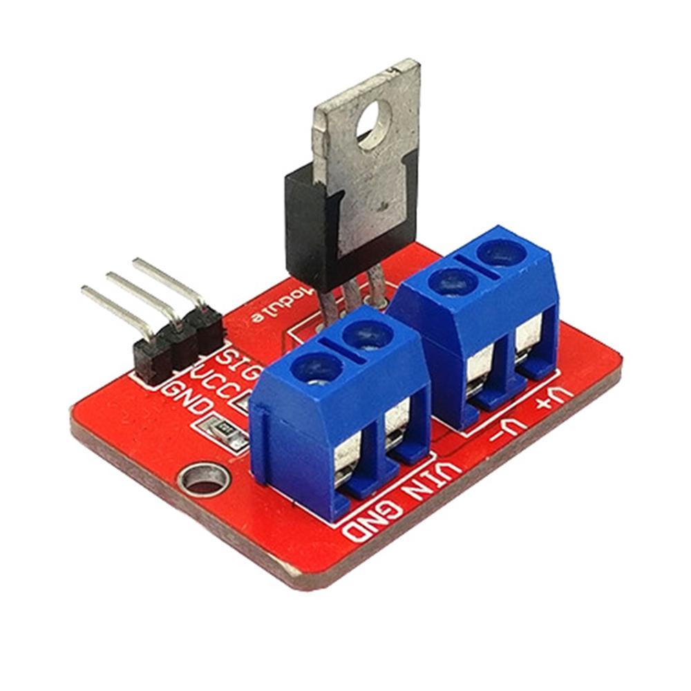 10 pçs/lote 0-24VTop Mosfet Botão IRF520 MOS Módulo Driver Para Arduino MCU torta de Framboesa