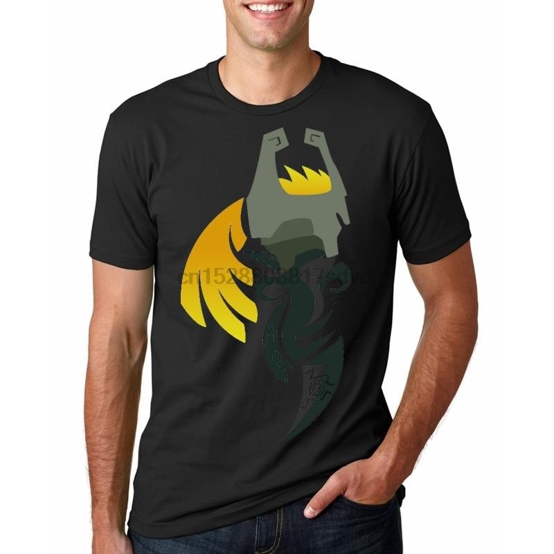 Camiseta de verano para hombre de la hora de Crepúsculo-impresión de Midna camiseta de moda novedad de manga corta Camiseta superior ropa para hombre