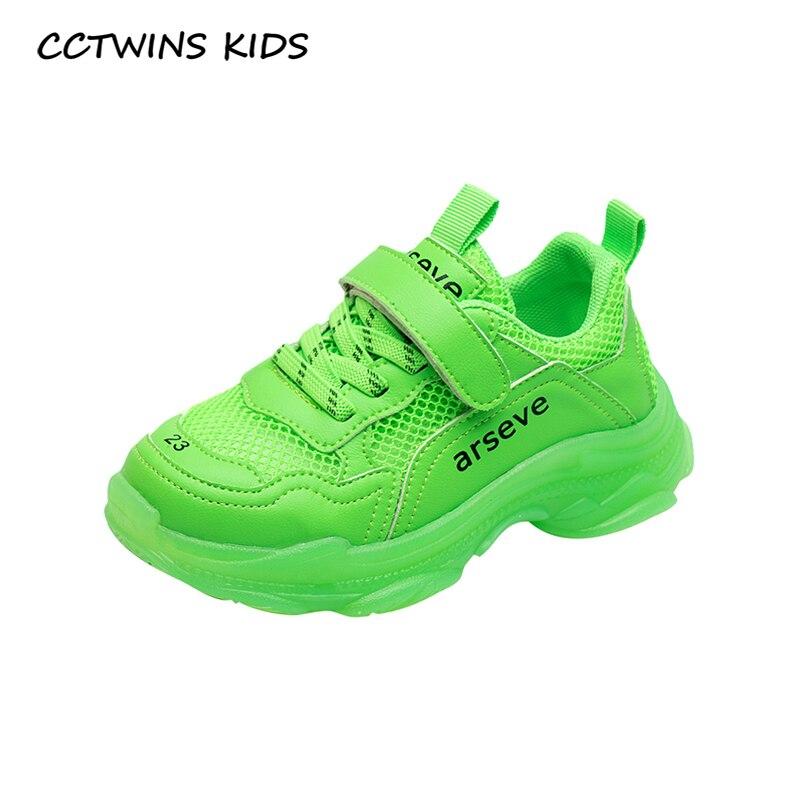 CCTWINS Kinder Schuhe 2019 Herbst Mode Mädchen Freiheit Schuhe Jungen Sport Klobig Turnschuhe für Kinder Laufschuhe Trainer FS2915