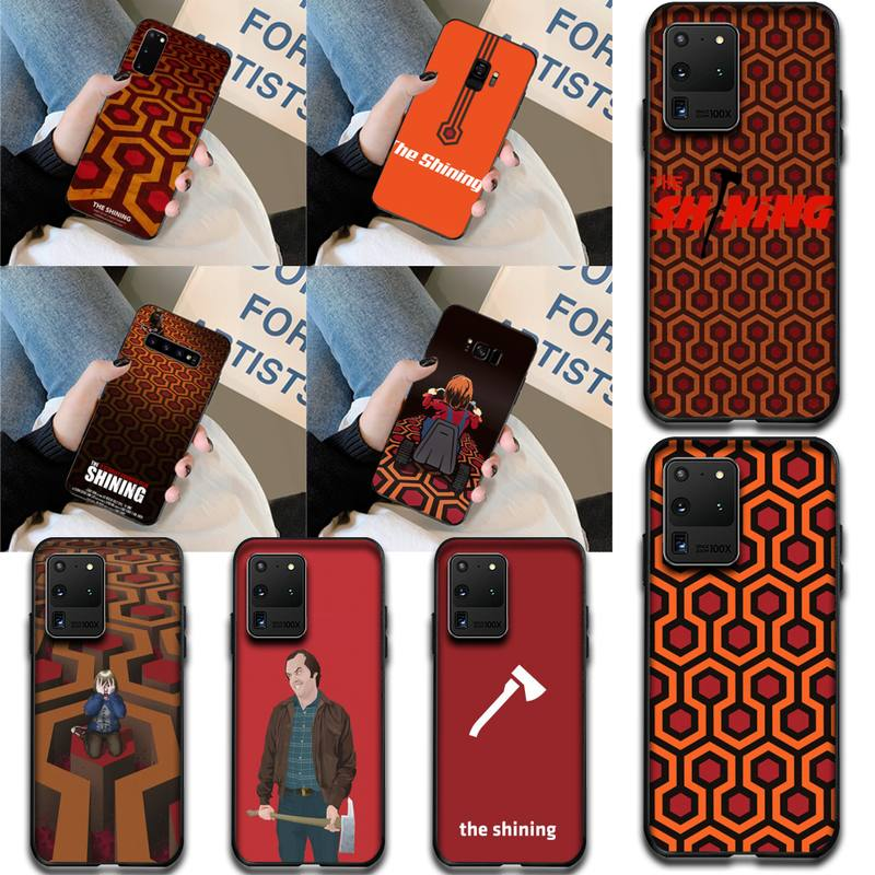 HPCHCJHM The Shining Overlook Hotel Bling Cute Phone Case for Samsung S20 plus Ultra S6 S7 edge S8 S
