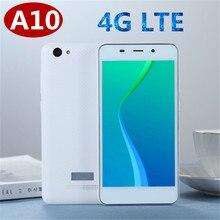 A10 akıllı telefonlar 4G LTE 2G RAM 16G ROM android 6.0 MTK6737 dört çekirdekli 5.0 inç cep telefonları ucuz celulares kilidini 2SIM wifi gps