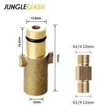 JUNGLEFLASH адаптер для стиральной машины высокого давления для Nilfisk Gerni серии, соединение для пенной насадки, пеногенератор, пистолет для мойки автомобилей