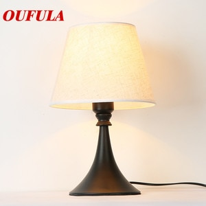 Table Lamp Desk Light Modern Contemporary Office Creative Decoration Bed LED Lamp Fabric for Foyer Living Room Bed Room Hotel