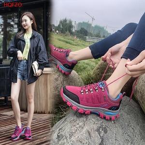 HQFZO Casual Women Sneakers Nonslip Outdoor Ladies Walking Shoes Cow Platform Women Spring Autumn Sports Shoes Luxury Brand