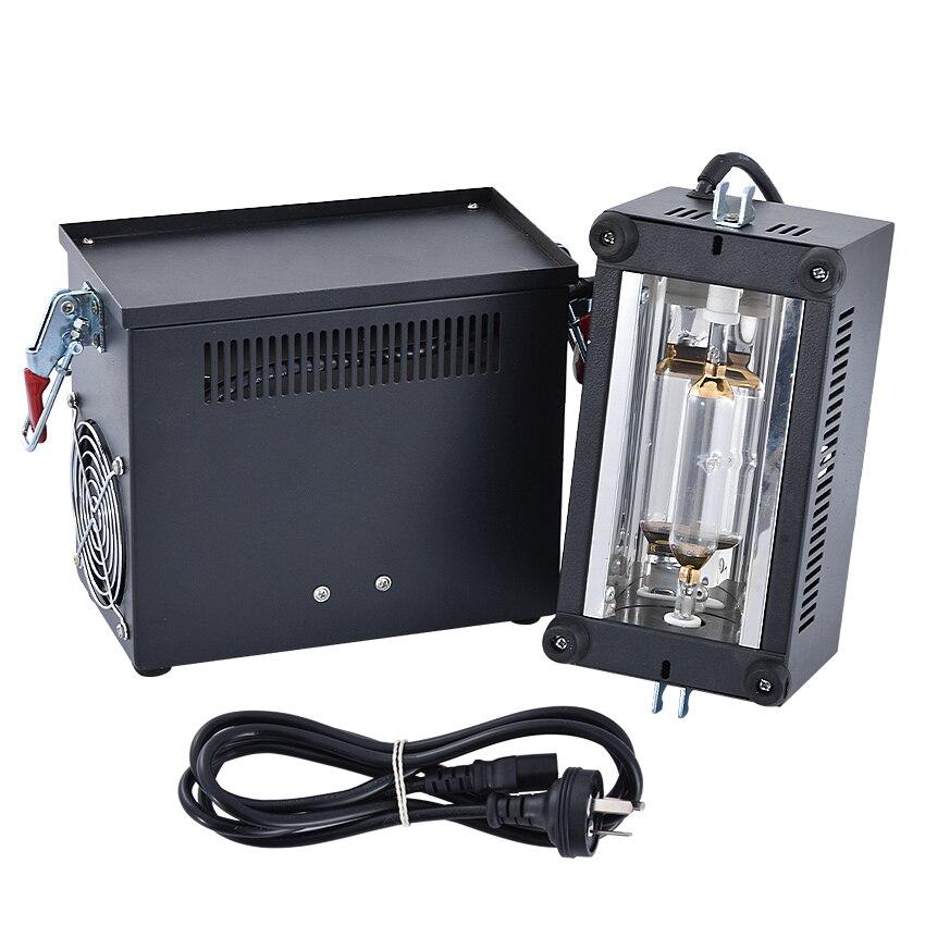 220 V/50Hz nueva máquina de curado de luz UV portátil 400w método de enfriamiento refrigerado por aire, plug-in que se utiliza, longitud de onda UV 365nm