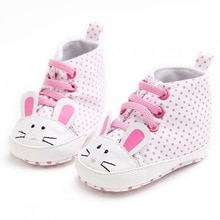 Baby First Walkers New Infant Kid Girls Shoes Lovely Anti-slip Soft Sole Newborn Sneakers Anti-Slip