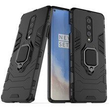 For Oneplus 7 7T 8 Pro Case Luxury Car Magnetic Ring Armor Case For One Plus 7 7T 8 Pro Protective B