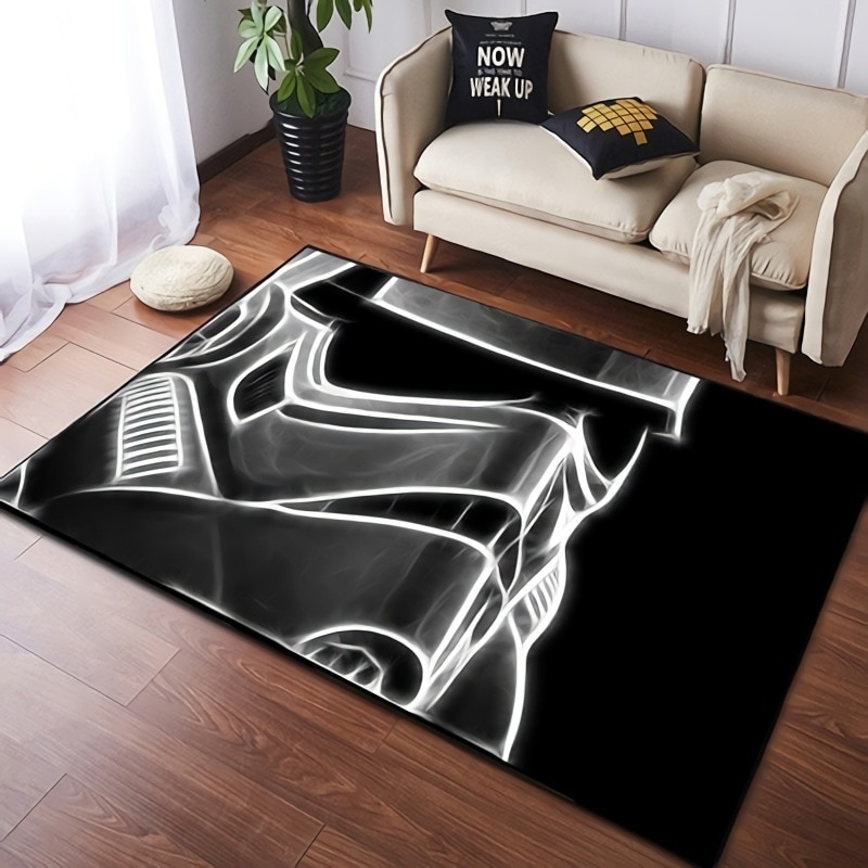 christmas trees gifts pattern indoor outdoor area rug 80x160cm Disney Star Wars Play Mat  Anti-slip Rug for Living Room Home Indoor Printed Decoration Area Rugs Bedroom
